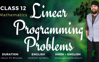 Ch12. Linear Programming Problems