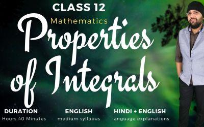 Ch7. Properties of Integrals