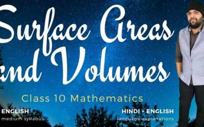 Ch13. Surface Areas and Volumes
