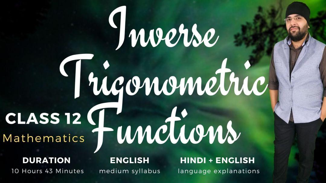 Inverse Trigonometry Functions Class 12 Maths v2