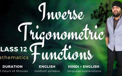 Ch2. Inverse Trigonometric Functions