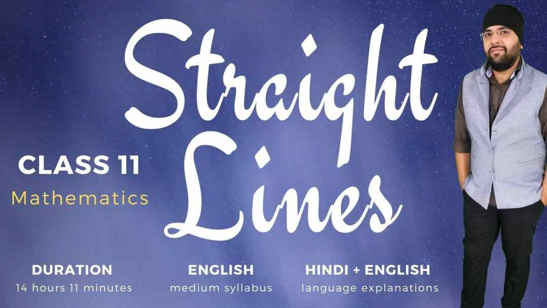 Straight Lines Class 12 Maths 1600px