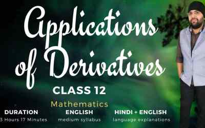 Ch6. Applications of Derivatives