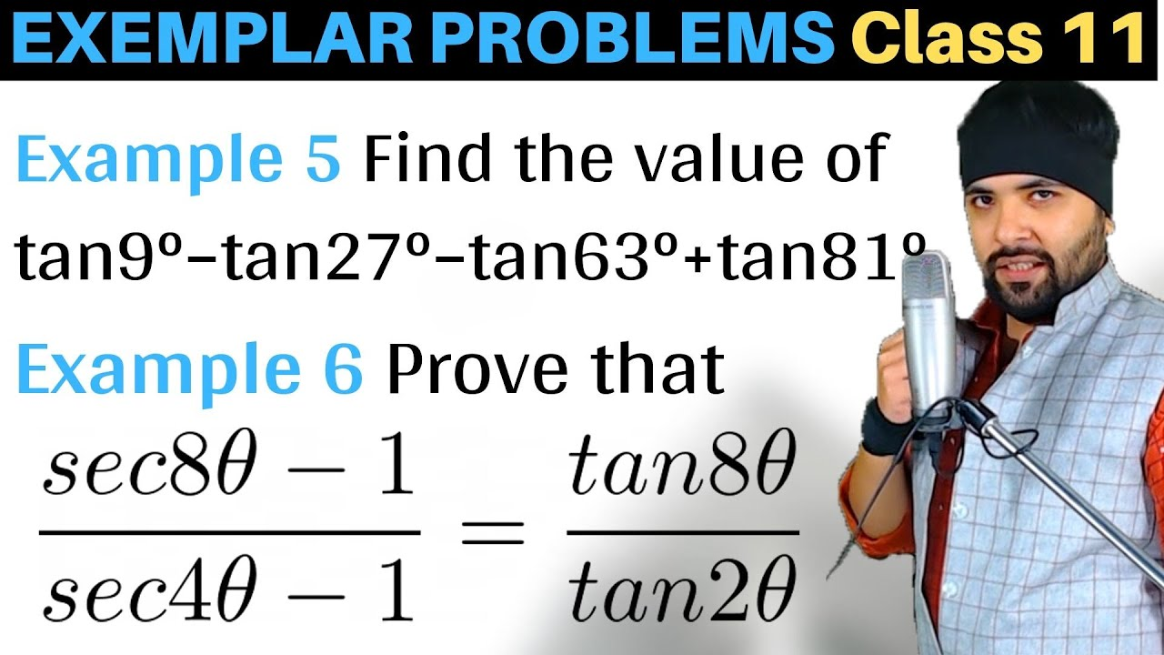 Find the value of tan9°–tan27°–tan63°+tan81°
