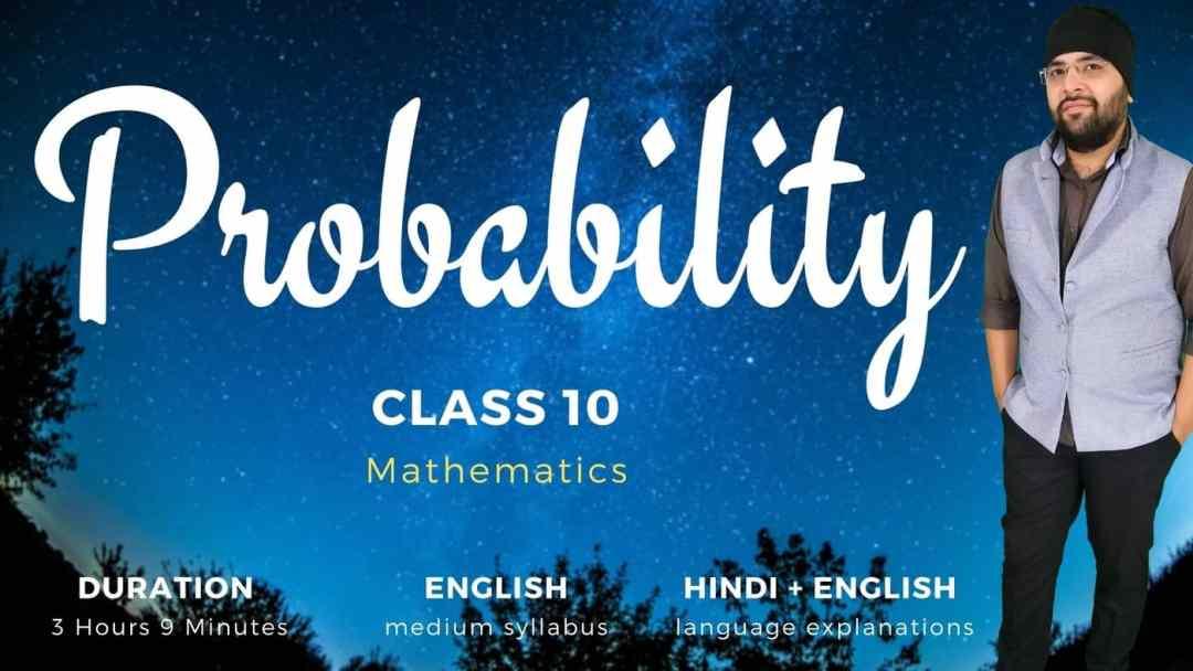 Probability Class 10 Maths v2 1400px