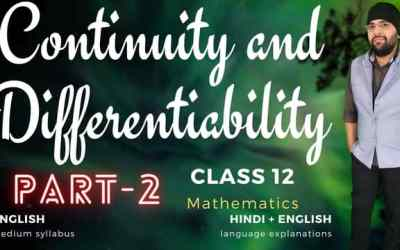 Ch05. Continuity and Differentiability (Differentiability Assignment – 3) Class 12 Assignments