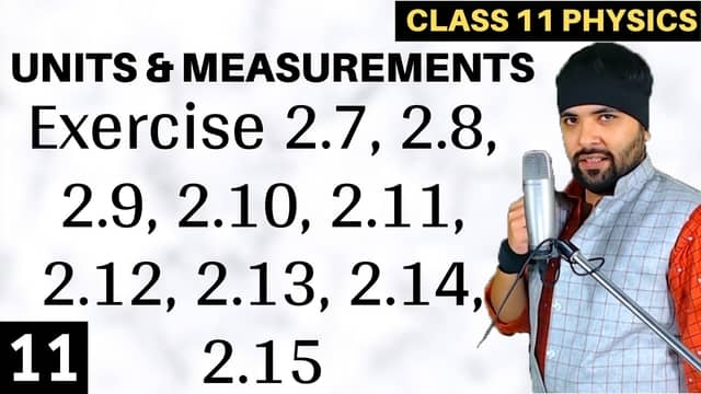 Chapter-2-Units-and-Measurement-Lecture-11